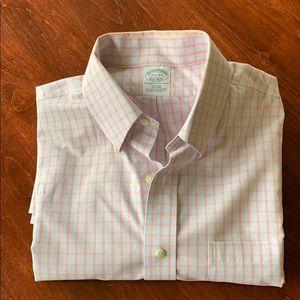 Brooks Brothers Cotton Button Down Dress Shirt